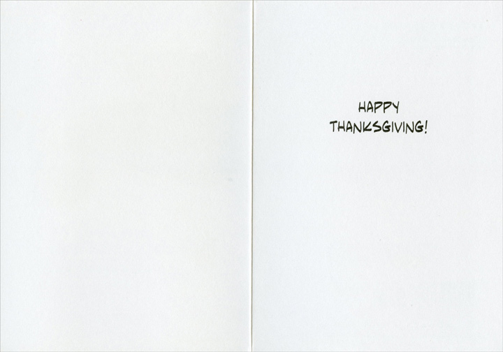 Flight Risk (1 card/1 envelope) Allport Funny Thanksgiving Card - FRONT: �I assure you, your honor, my client is not a flight risk.�  INSIDE: Happy Thanksgiving!
