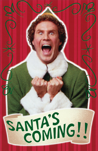 Elf is absolutely one of our favorite Christmas movies and is definitely our favorite Will Ferrell movie. The last few years, at Christmastime, we have an
