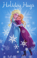 Disney Frozen Character Christmas (12 cards/12 envelopes) American Greetings Christmas Card