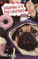 Doug the Pug Dreaming Christmas Card