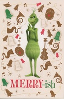 Grinch Merry-ish Box of 12 Christmas Cards