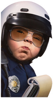 Baby Officer (1 oversized card/1 envelope) Avanti Oversized Funny Birthday Card