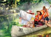 Women Canoe Adventure (1 card/1 envelope) Avanti Funny Birthday Card