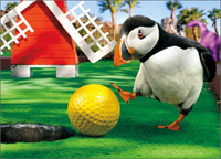 Putt Putt Puffin (1 card/1 envelope) - Birthday Card