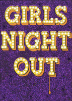 Girls Night Out (1 card/1 envelope) Avanti A*Press Funny Friendship Card