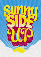 Sunny Side Up (1 card/1 envelope) Avanti A*Press Get Well Card