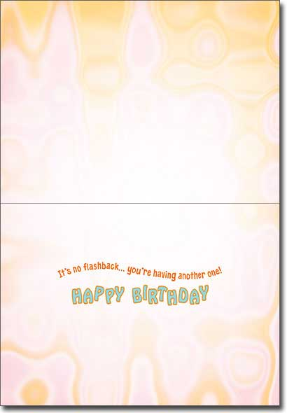 Smokin' Koala Bear (1 card/1 envelope) Avanti Funny Birthday Card  INSIDE: It's no flashback� you're having another one! Happy Birthday
