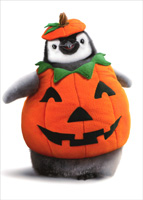 Penguin Pumpkin (1 card/1 envelope) Avanti Funny Halloween Card