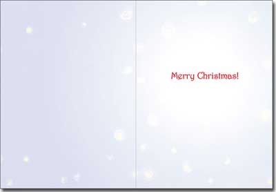 Ten Magnificent Mutts (1 card/1 envelope) Avanti Funny Christmas Card  INSIDE: Merry Christmas!