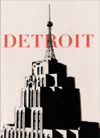 Penobscot Building with Red Detroit (1 card/1 envelope) Avanti Historic Detroit Blank Card