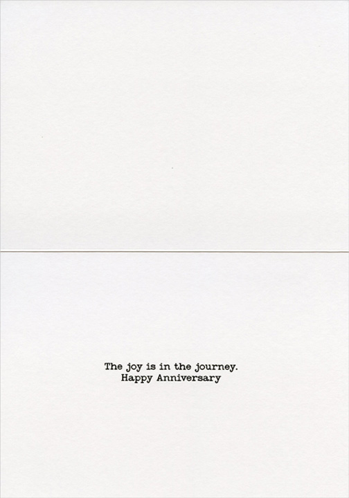 Couple Changing Car Tire America Collection Funny Wedding Anniversary Card