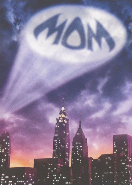 Mom Sky Signal (1 card/1 envelope) - Mother's Day Card  INSIDE: It's a three-letter word for FANTASTIC! Happy Mother's Day
