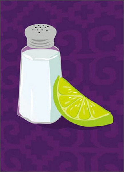 Salt and Lime (1 card/1 envelope) Avanti A*Press Birthday Card  INSIDE: They look so innocent, don't they? Happy Birthday