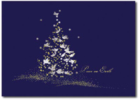 Tree of Peace (25 cards & envelopes) Personalized Boxed Holiday Cards