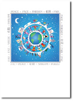 Hands of Peace (25 cards & envelopes) - Boxed Holiday Cards
