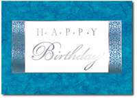 Happy Birthday Marble (25 cards & envelopes) - Boxed Birthday Cards