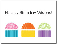 Birthday Wishes (25 cards & envelopes) Personalized Business Boxed Birthday Cards