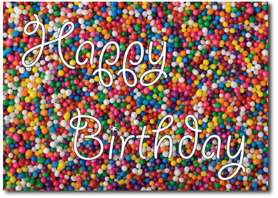 Happy Birthday Sprinkles (25 cards & envelopes) - Boxed Birthday Cards