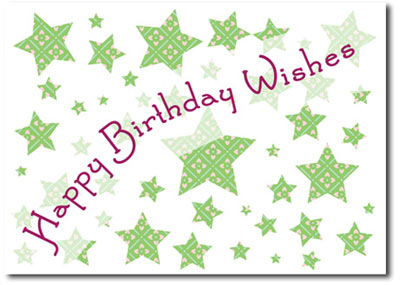 Happy Birthday Wishes (25 cards & envelopes) - Boxed Birthday Cards