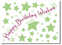 Happy Birthday Wishes (25 cards & envelopes) Personalized Business Boxed Birthday Cards
