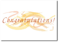 Pastel Congratulation Swirls (25 cards & envelopes) - Boxed Congratulations Cards
