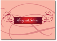 Elegant Flourish (25 cards & envelopes) - Boxed Congratulations Cards