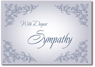 Deepest Sympathy (25 cards & envelopes) - Boxed Sympathy Cards