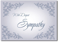 Deepest Sympathy (25 cards & envelopes) Personalized Business Boxed Sympathy Cards