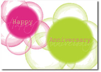 Vibrant Anniversary (25 cards & envelopes) - Boxed Anniversary Cards