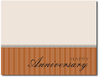 Mini Anniversary in Copper (25 cards & envelopes) - Boxed Anniversary Cards