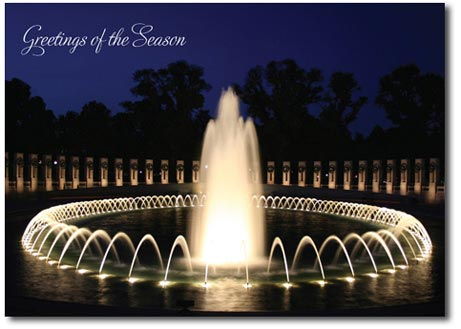 World War II Memorial (25 cards & envelopes) - Boxed Holiday Cards