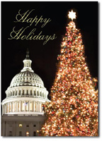 Christmas at the Capitol (25 cards & envelopes) - Boxed Christmas Cards