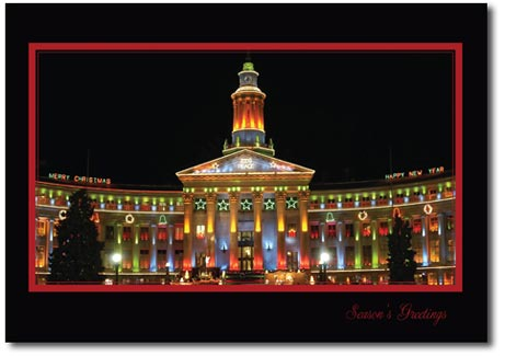 Denver City (25 cards & envelopes) - Boxed Holiday Cards
