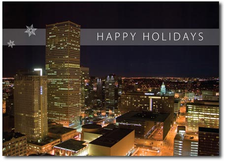 Downtown Denver (25 cards & envelopes) - Boxed Holiday Cards