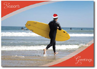 Surf's Up! (25 cards & envelopes) - Boxed Holiday Cards