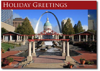 Arch in Saint Louis (25 cards & envelopes) - Boxed Holiday Cards