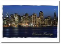 Downtown San Francisco (25 cards & envelopes) Personalized Business Boxed Holiday Cards