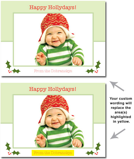 Happy HOLLYdays! (25 cards & envelopes) - Boxed Christmas Cards