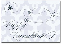 Happy Hanukkah (25 cards & envelopes) Personalized Boxed Hanukkah Cards