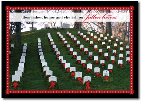 Fallen Heroes (25 cards & envelopes) Personalized Washington, DC Boxed Holiday Cards