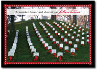 Fallen Heroes (25 cards & envelopes) - Boxed Holiday Cards