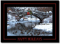 Bridge over Chilly Waters (25 cards & envelopes) - Boxed Holiday Cards