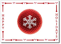Golf Enthusiast (25 cards & envelopes) - Boxed Holiday Cards