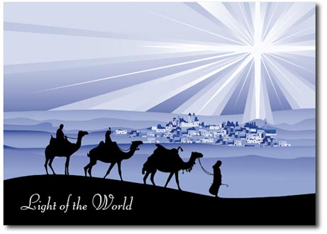 Light of the World (25 cards & envelopes) - Boxed Christmas Cards