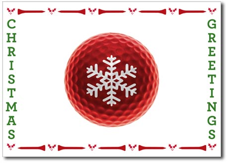 Golf Lovers (25 cards & envelopes) - Boxed Christmas Cards