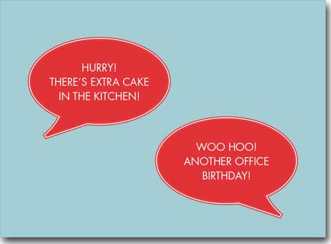 Birthday Office Gossip (25 cards & envelopes) - Boxed Birthday Cards