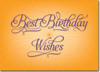 Best Birthday Wishes (25 cards & envelopes) - Boxed Birthday Cards
