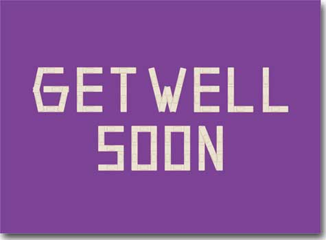 Get Well Soon Band-Aids (25 cards & envelopes) Personalized Business Boxed Get Well Cards