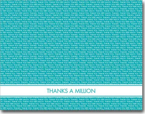 Tiny Thank You (25 cards & envelopes) - Boxed Thank You Cards
