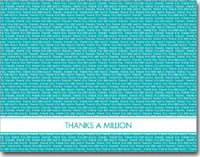 Tiny Thank You (25 cards & envelopes) Personalized Business Boxed Thank You Cards